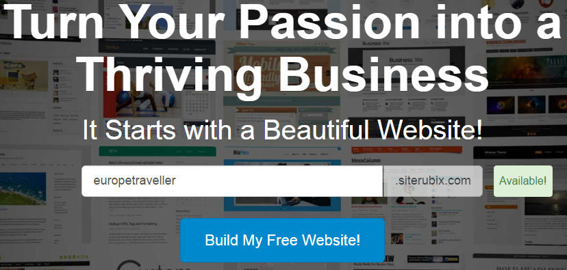 Build a Free Website