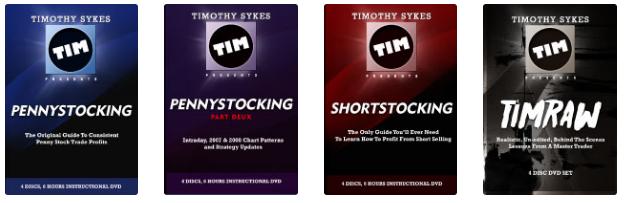 Tim Sykes DVDs