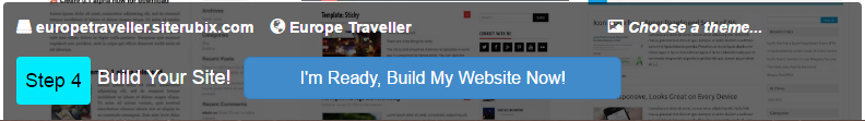Website Builder Step 4